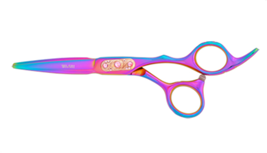 Washi Q4 575 R Rainbow Buckle Shears
