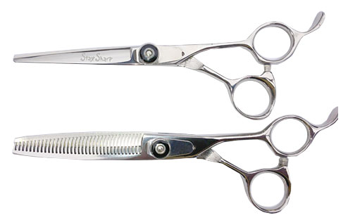 Stay Sharp Cutting and Texturizing Lefty Shears Matching Set