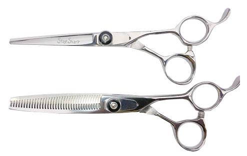 Stay Sharp Cutting and Texturizing Lefty Shears Matching Set