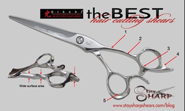 The Best Hair Cutting Shears Hikari Scissors