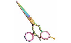 Washi 2BBM Bamboo Rainbow Swivel Shears