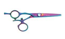 Washi LSV R Rainbow Rose Swivel Lefty Shears