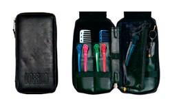 LC1037 Leather Zipper Scissor Case
