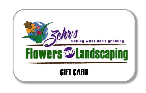 Zehr's Flowers Gift Card